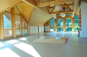 Die Unterrichtsräume der ShenDo Shiatsu Schule am Ammersee